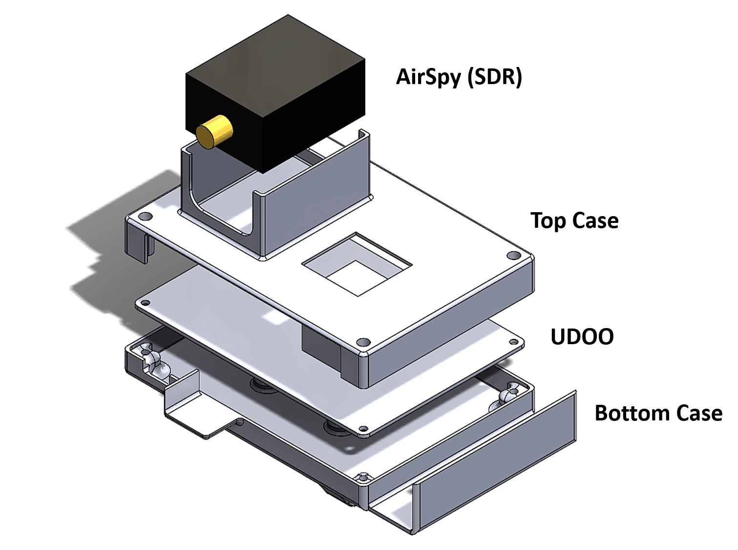 UDOO Case Install